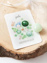 MOOQI - Knuffelsteen pakketje Jade