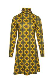 LaLamour Flared Dress Turtleneck Seventies Sun