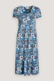 Seasalt Short-Sleeved Seed Packet Dress