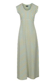 ZILCH Dress Long Mosaic Emerald