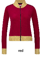 IEZ! - Jacket  Velvet Red