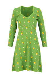 Blutsgeschwister Honest Bee Dress Yellow Wellys