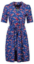 Tante Betsy Dress Vera Lynn Birds Blos Blue