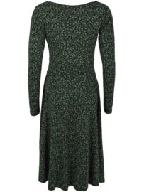 Danefae Sigrid Dress Black/ khaki Fleurie