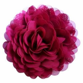 Raspberry Chiffon Corsage