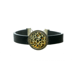 Opgepimpt armband Panter