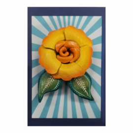 Urban Hippies Yellow Primrose Broche