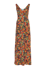 LaLamour Long singlet dress, tutti fruity multicolor