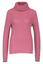 ZILCH Sweater Roll Neck Pink
