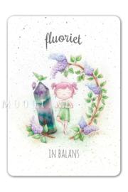 MOOQI - Ansichtkaart Fluoriet