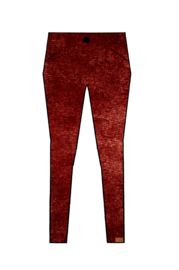 Mooi Vrolijk Trouser Chic - Basic Rust Steam Velvet