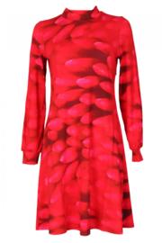 KO:KO Dahlia Dress Red