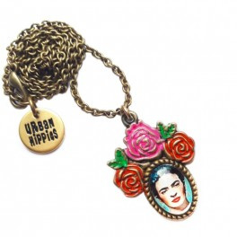 Urban Hippies Frida Pink Necklace