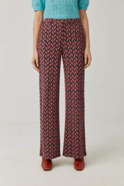SURKANA Straight Trousers With Pockets Tile