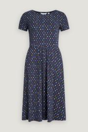 Seasalt April Dress - Polka Dot Waterline