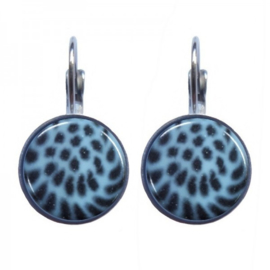 Urban Hippies Blue Leopard Dots