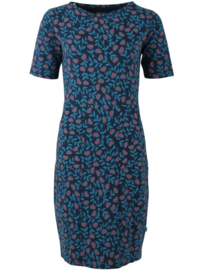 Danefae Polly Dress Dusty blue Fleurie