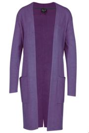 ZILCH Cardigan Long Purple