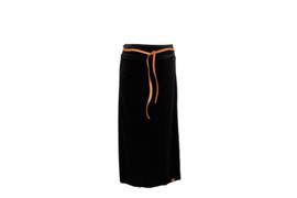 Mooi Vrolijk Skirt Nice Long - Basic Black Steam Velvet