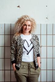 Mooi Vrolijk Vest Shine - Animal Print