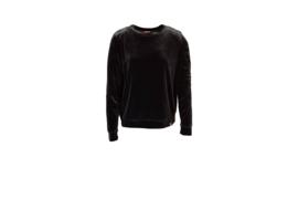Mooi Vrolijk Sweater Nice - Basic Black Steam Velvet
