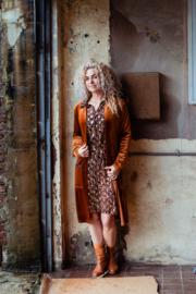 Mooi Vrolijk Vest Long - Basic Rust Steam Velvet