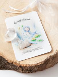 MOOQI - Knuffelsteen pakketje Bergkristal