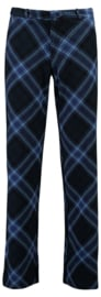 Tante Betsy Baggy Trousers Tartan Navy