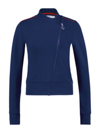 IEZ! Jacket Thick Knit Blue