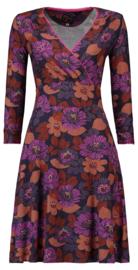 Tante Betsy Dress Swirley Forest Purple