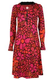 KO:KO Tir red dress-orange