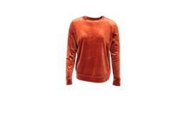 Mooi Vrolijk Sweater Nice - Basic Rust Steam Velvet