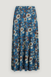 Seasalt South Stratus Skirt Sketched Border Slipware Sailor