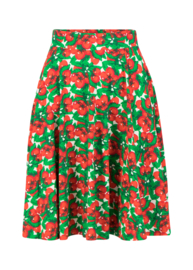Blutsgeschwister Fullmoon Circle Skirt Cherry Caprese