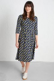 Seasalt The Mouls Dress Primrose Spot Dune