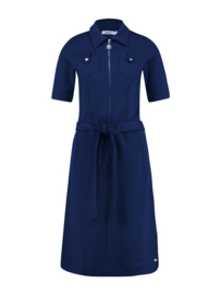 IEZ! - Dress Pockets Thick Knit Blue