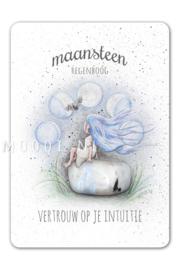 MOOQI - Ansichtkaart Maansteen