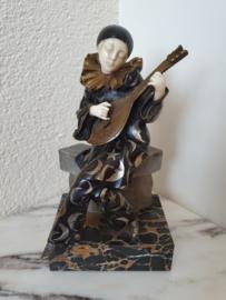 Bronzen Pierrot