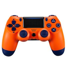 Playstation 4 controller Oranje/Blauw Dualshock