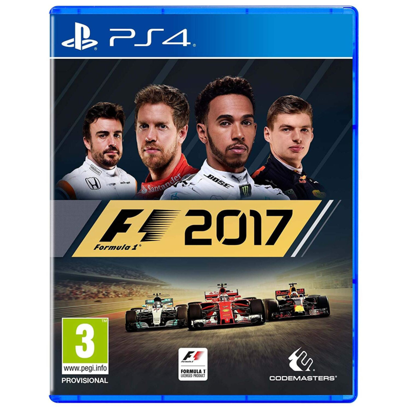 F1 2017 Formula 1 playstation 4 games