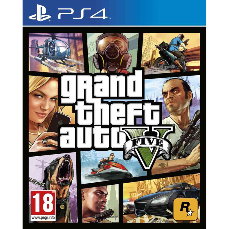 Grand Theft Auto 5 GTA 5 PlayStation 4 games