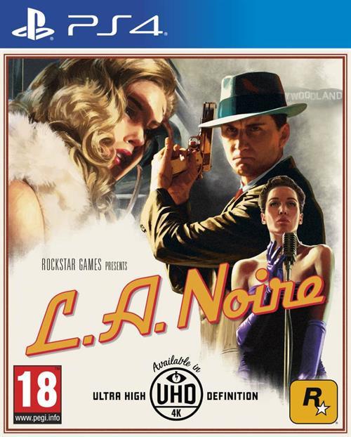 L.A Noire Playstation 4