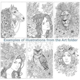 The Art Folder | Nadiya Vasilkova