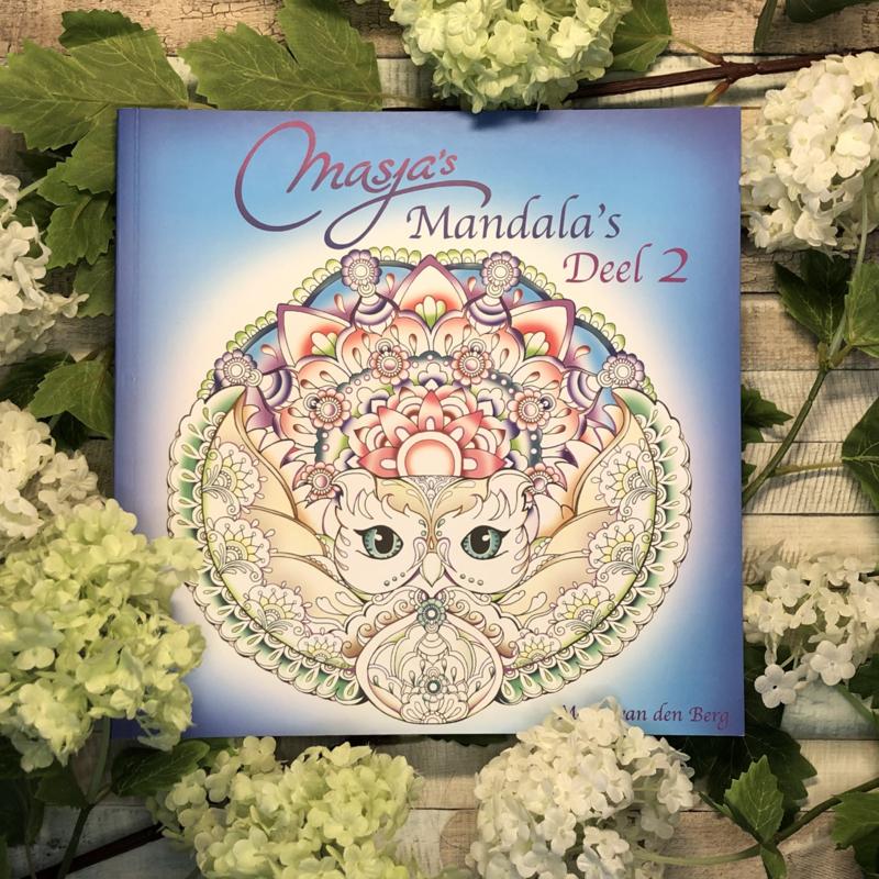 Masja's Mandala's 2   Masja van den Berg
