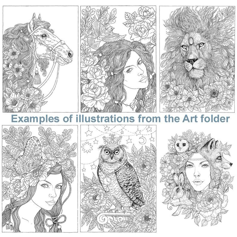 The Art Folder van Nadiya Vasilkova