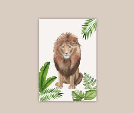 Leeuw poster A4 | pre-order