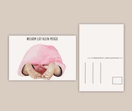 Kaartenset geboorte - 3 kaarten