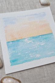 Silver Linings - Sunrise square 10 x 10