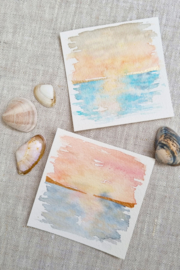 Silver Linings - Sunrise and sunset mini duo