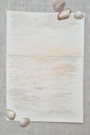 Silver Linings - Sunrise Sand 15 x 20